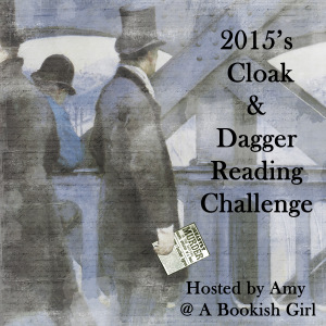 Cloak & Dagger Mystery Reading Challenge