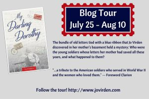 Jo Virden's Blog Tour Banner for My Darling Dorothy
