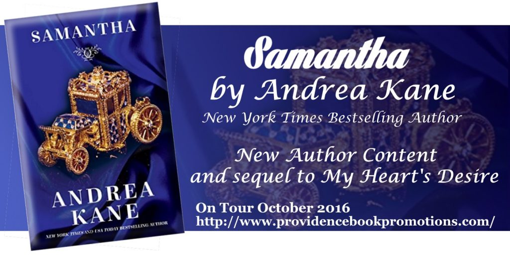 Samantha by Andrea Kane Tour Banner