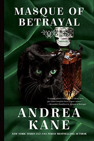 Masque of Betrayal by Andrea Kane cover