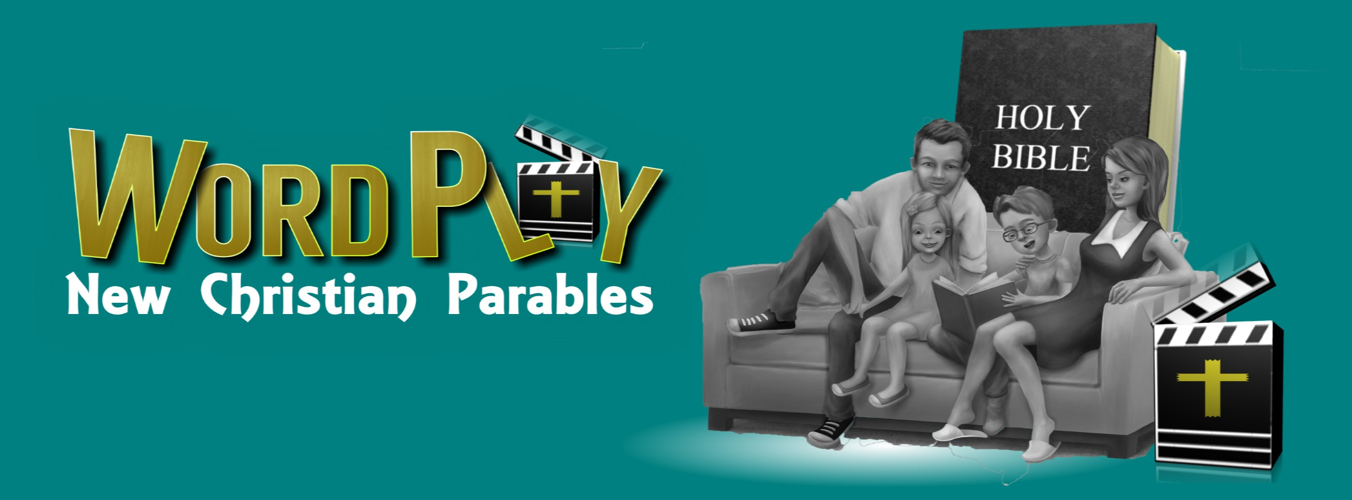 An interactive bible memory technique which animates scriptures to a mystery story rhythm of New Christian Parables! It's Sunday School from home with your family's favorite teacher: YOU!