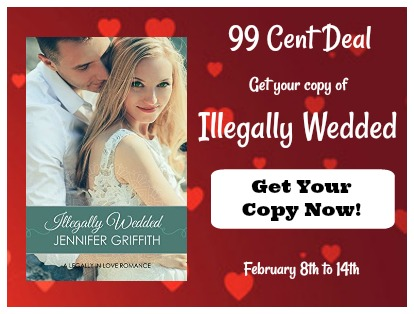Get a copy of Illegally Wedded by Jennifer Griffith for $1