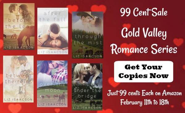 The Gold Valley Romance is on sale for $1 ea Feb 11-18, 2018