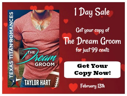 The Dream Groom by Taylor Hart is $1 Feb 13, 2018