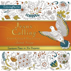 Jesus Calling Adult Coloring Book