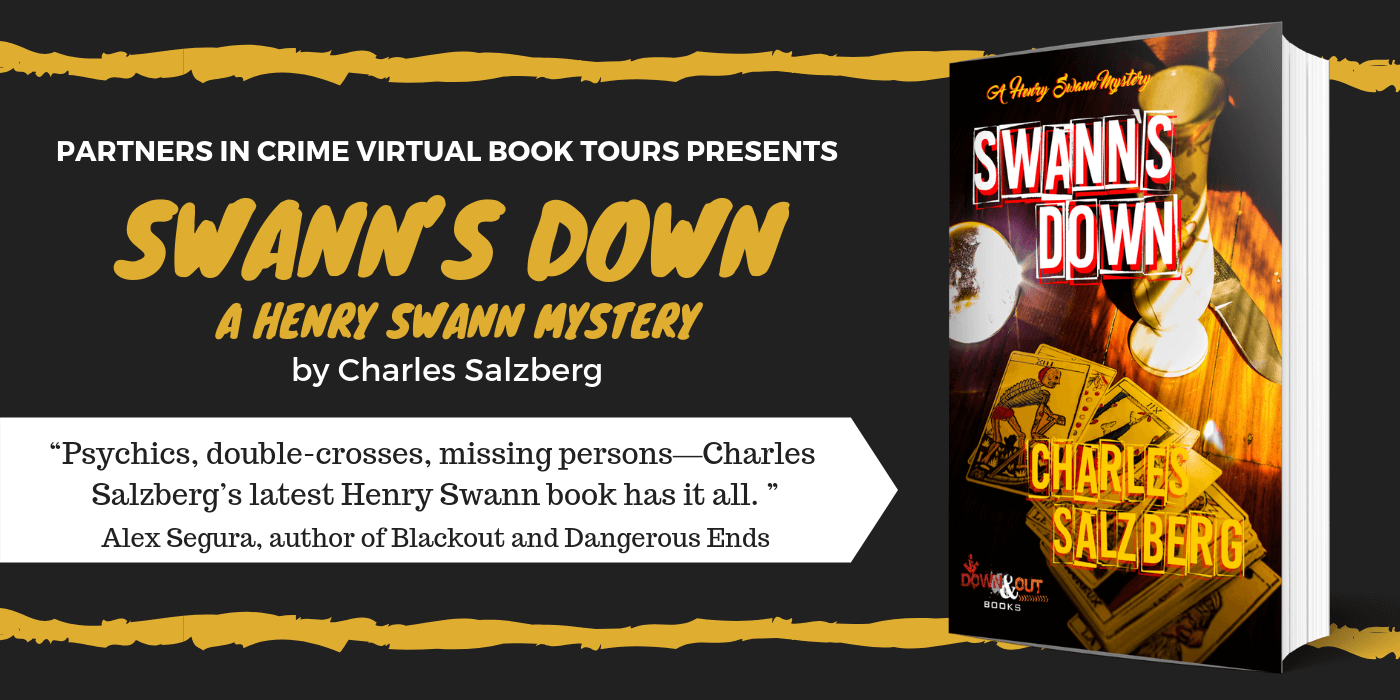 Swann's Down by Charles Salzberg Tour Banner