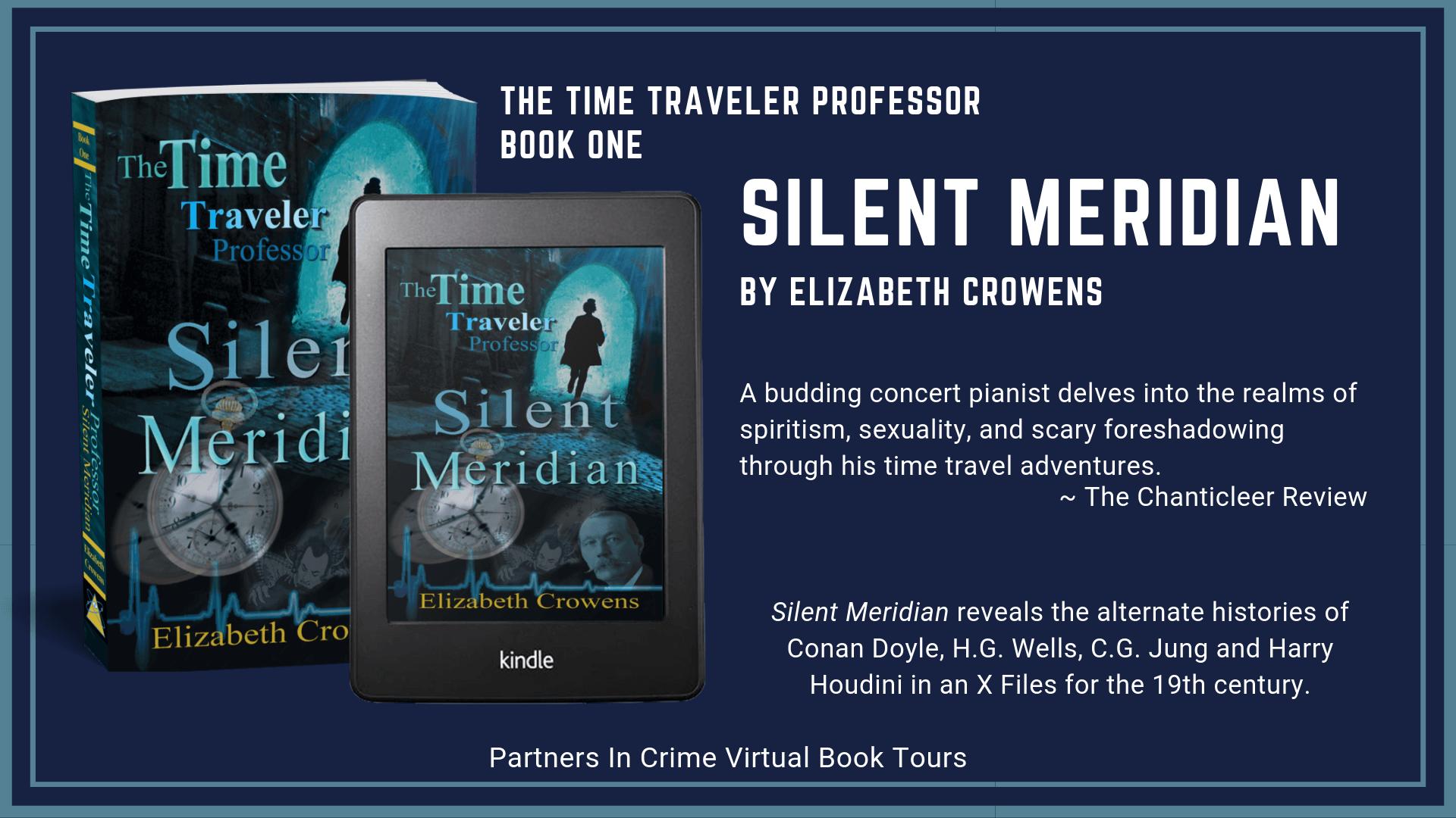 Silent Meridian by Elizabeth Crowens Tour Banner