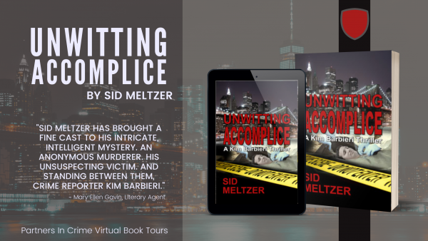 Unwitting Accomplice by Sid Meltzer Tour Banner