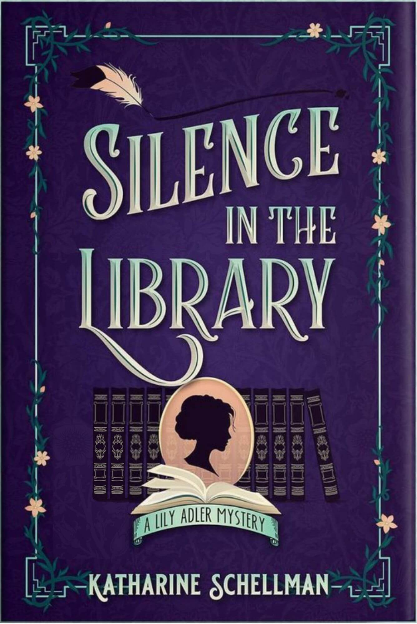 Silence in the Library by Katharine Schellman