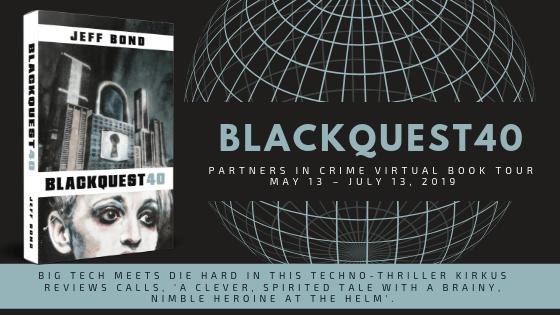 Blackquest 40 by Jeff Bond Tour Banner