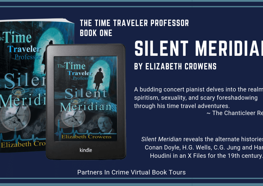 Silent Meridian by Elizabeth Crowens Tour Banner