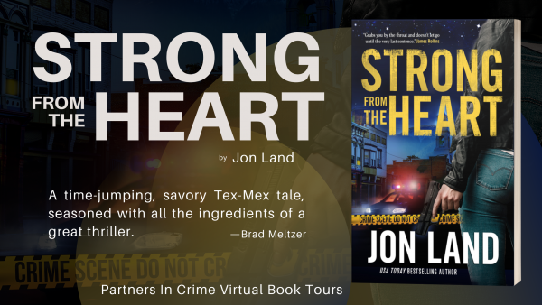 Strong From The Heart by Jon Land Tour Banner