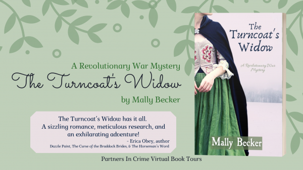 The Turncoat's Widow by Mally Becker Banner